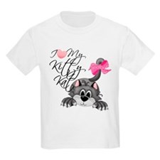 I Love My Kitty Kat Kids T-Shirt