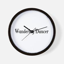 Wandering Dancer Wall Clock