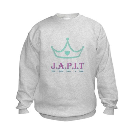 Jewish American Princess In T Kids Sweatshirt