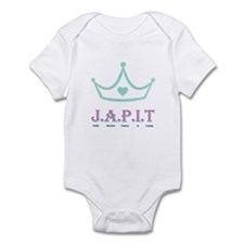 Jewish American Princess In T Infant Bodysuit