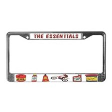 The Dirtbike Essentials License Plate Frame