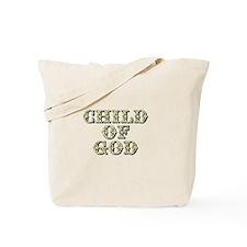 Child of God - Yellow Tote Bag