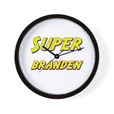 Super branden Wall Clock