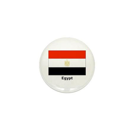 Egypt Egyptian Flag Mini Button (10 pack)