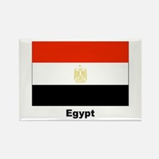 Egypt Egyptian Flag Rectangle Magnet