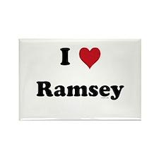I love Ramsey Rectangle Magnet