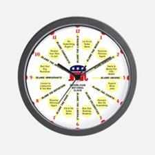 RNC Wall Clock
