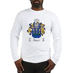 Vanucci Family Crest Long Sleeve T-Shirt