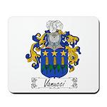 Vanucci Family Crest Mousepad