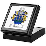 Vanucci Family Crest Keepsake Box