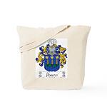 Vanucci Family Crest Tote Bag