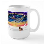 XmasSunrise/Norwich Ter Large Mug