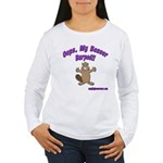Oops Beaver Burp Women's Long Sleeve T-Shirt