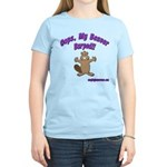 Oops Beaver Burp Women's Light T-Shirt