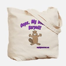 Oops Beaver Burp Tote Bag