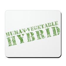 Human Vegetable Hybrid Mousepad