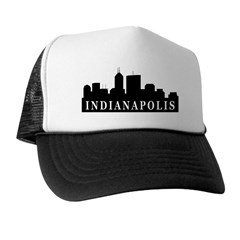 Indianapolis Skyline Trucker Hat