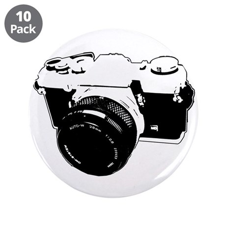 """Photographer 3.5"""" Button (10 pack)"""