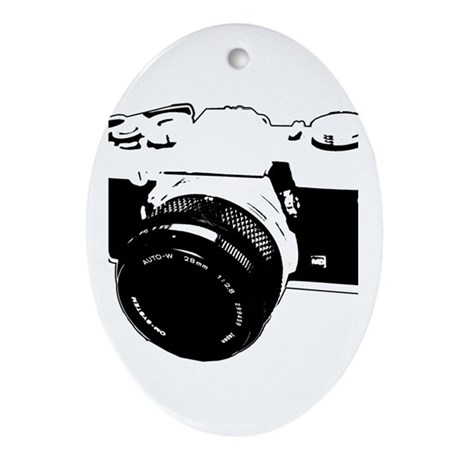 Photographer Oval Ornament