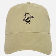Girl & Exercise Baseball Baseball Cap