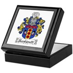 Vecchiaretti Family Crest Keepsake Box