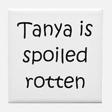 Cute Tanya Tile Coaster