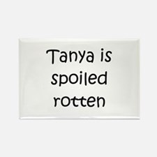 Cute Tanya Rectangle Magnet