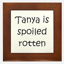 Cute Tanya Framed Tile