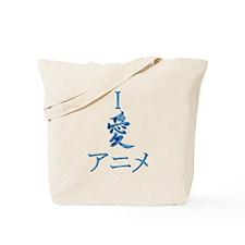 I Love Anime Tote Bag