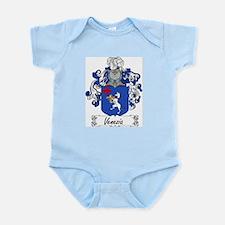 Venezia Family Crest Infant Creeper