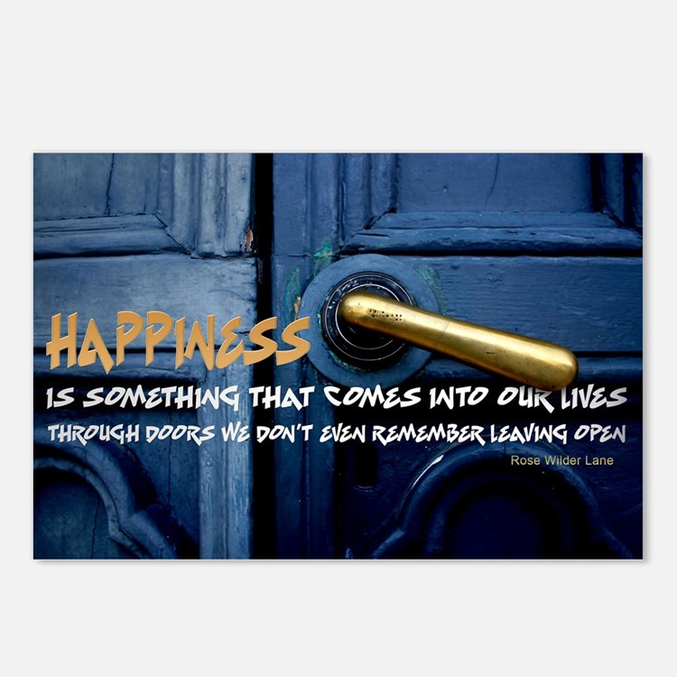 Inspirational Quote on Postcards (Package of 8)