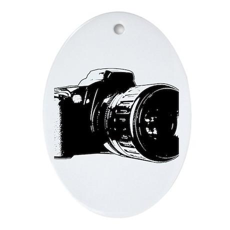 Photographer Oval Ornament