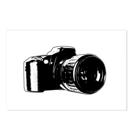 Photographer Postcards (Package of 8)