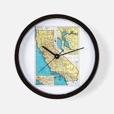 California Pride! Wall Clock