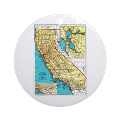 California Pride! Ornament (Round)