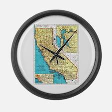 California Pride! Large Wall Clock