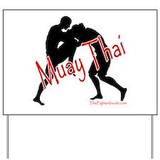 Muay Thai Yard Sign