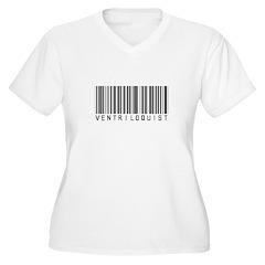 Ventriloquist Barcode T-Shirt