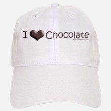 "I ""Heart"" Chocolate Baseball Baseball Cap"