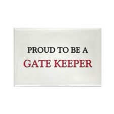 Proud to be a Gate Keeper Rectangle Magnet