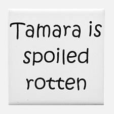 Cute Tamara Tile Coaster