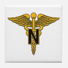 Army Nurse Corps Tile Coaster
