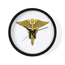 Army Nurse Corps Wall Clock