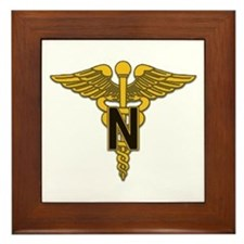Army Nurse Corps Framed Tile