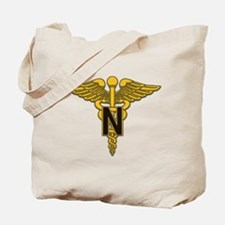 Army Nurse Corps Tote Bag