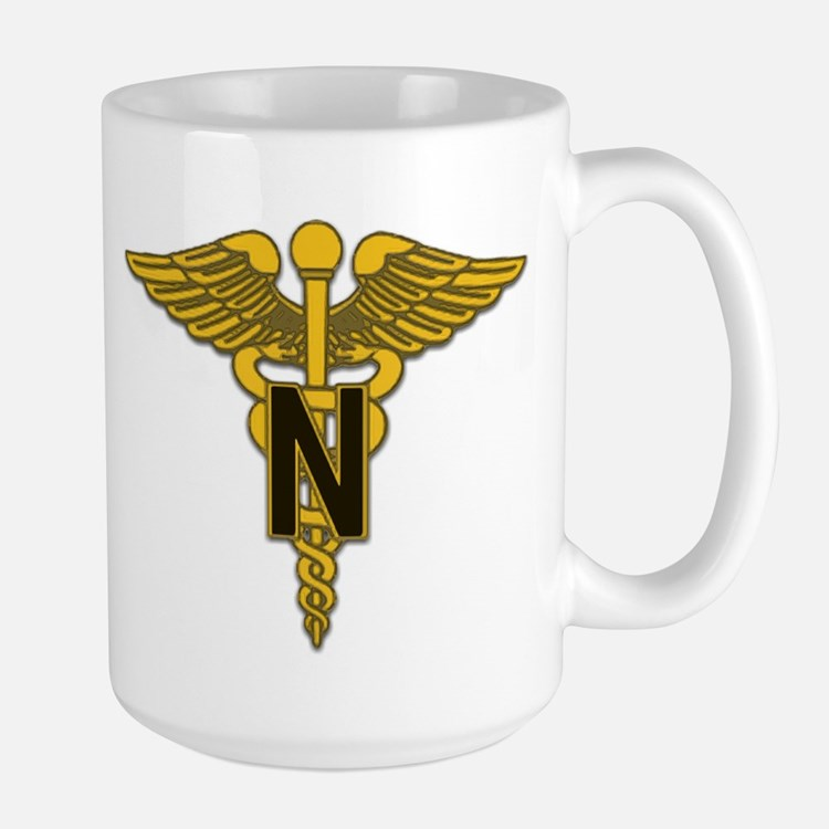 Army Nurse Corps Large Mug