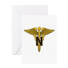 Army Nurse Corps Greeting Card