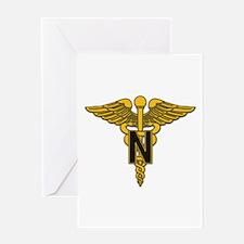 Army Nurse Corps Greeting Card