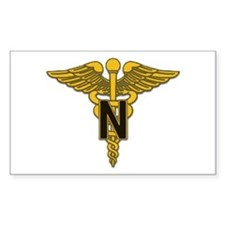 Army Nurse Corps Rectangle Decal