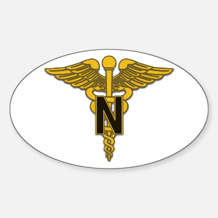 Army Nurse Corps Oval Decal